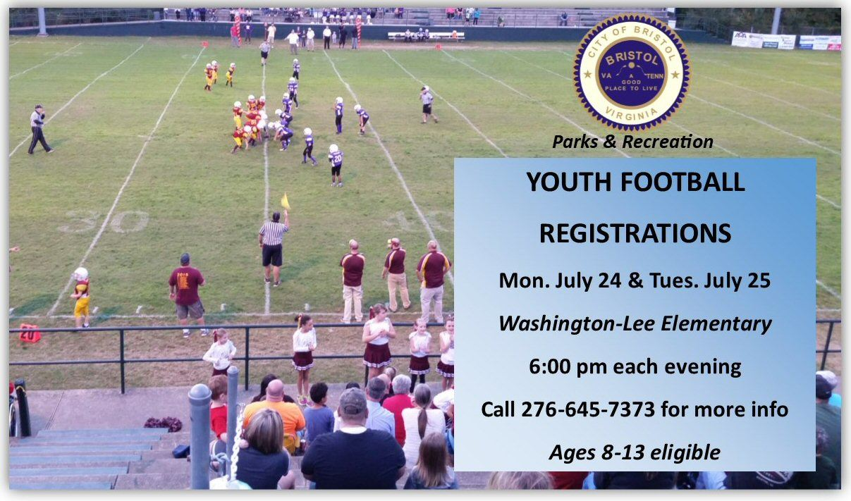 Youth Football Registration 2017