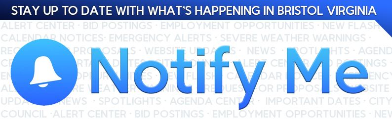 notify me banner